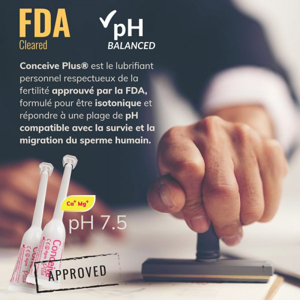 applicateur de fertilité de lubrifiant approuvé par la FDA